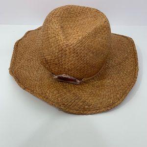 Tommy Bahama Women's Raffia Sun Hat Cowboy  Beach